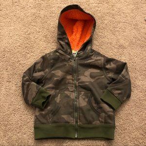 Toddler zip up hoodie